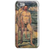 Edvard Munch - Bathing Men 1907 iPhone Case/Skin