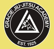 GRACIE BRAZILIAN JIU-JITSU (2) One Piece - Short Sleeve