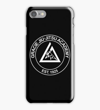 GRACIE BRAZILIAN JIU-JITSU (2) iPhone Case/Skin