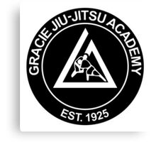 GRACIE BRAZILIAN JIU-JITSU (2) Canvas Print
