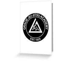 GRACIE BRAZILIAN JIU-JITSU (2) Greeting Card