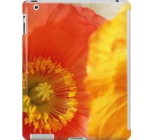 Poppies iPad Case/Skin