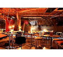 Laugh With Abandonment Comedy Club Photographic Print