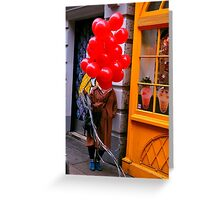Moor Street, Soho Greeting Card