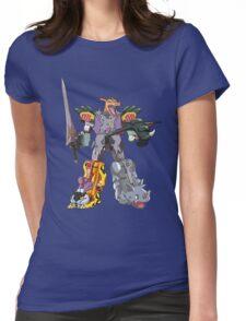 Power Rangers PokeMegazord Womens Fitted T-Shirt