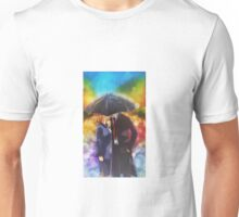 X-files Kiss in the Rain Unisex T-Shirt