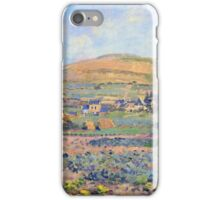 Claude Monet - The Mount Riboudet In Rouen At Spring iPhone Case/Skin