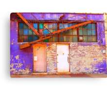 The Pretty Side of Urban Decay Canvas Print