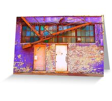 The Pretty Side of Urban Decay Greeting Card
