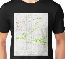 USGS TOPO Map Arizona AZ Desert Well 311120 1956 24000 Unisex T-Shirt