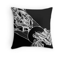 Explosion Inverted Throw Pillow