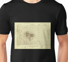 USGS TOPO Map Arizona AZ Buck Mountains 314265 1927 48000 Unisex T-Shirt