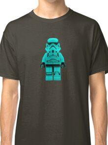 Turquoise Blue Lego Storm Trooper Classic T-Shirt