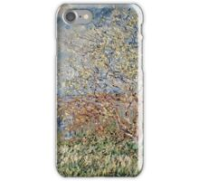 Claude Monet - Spring 1882  iPhone Case/Skin