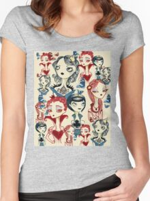 Card Queens Women's Fitted Scoop T-Shirt