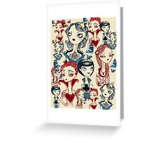 Card Queens Greeting Card