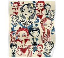 Card Queens Poster