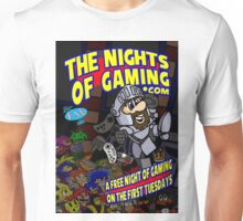 The Nights of gaming poster Unisex T-Shirt