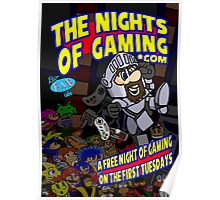 The Nights of gaming poster Poster