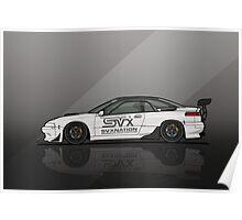 SVXNation.com's Subaru SVX Widebody Track Car Build Poster