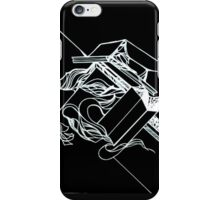 Multi Dimensional Abstract Ink Inverted iPhone Case/Skin