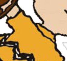 Charlie Brown Baseball Sticker