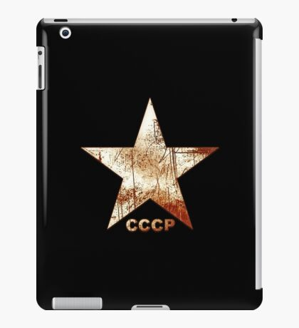 CCCP Rusted Star Grunge Vintage iPad Case/Skin