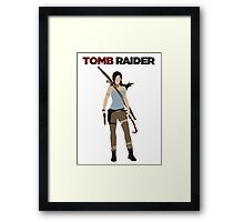 Lara Croft -  Tomb Raider Framed Print