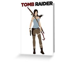Lara Croft -  Tomb Raider Greeting Card