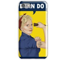 Buffy, the riveter. WE CAN DO IT iPhone Case/Skin