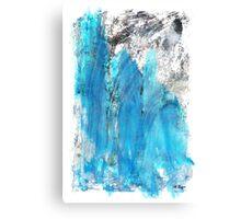 Modern Abstract Art - Blue Essence - Sharon Cummings Canvas Print