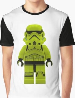 Lime Green /Yellow Lego Storm Trooper Graphic T-Shirt