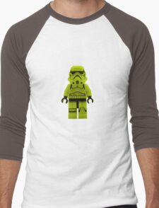 Lime Green /Yellow Lego Storm Trooper Men's Baseball ¾ T-Shirt