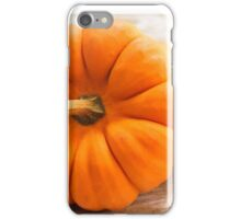 Pumpkins close up iPhone Case/Skin