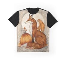 Fox Moon Graphic T-Shirt