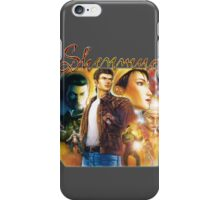 Shenmue 2 - Box Art iPhone Case/Skin