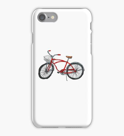 Vintage Pedal Power iPhone Case/Skin