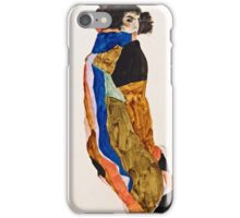 Egon Schiele - Moa (1911)  iPhone Case/Skin
