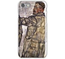 Egon Schiele - Double Portrait Of Otto And Heinrich Benesch  iPhone Case/Skin