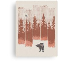 A Bear in the Wild... Canvas Print
