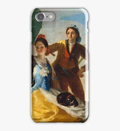 Goya - El Quitasol iPhone Case/Skin