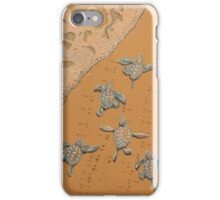 Hittin the surf iPhone Case/Skin