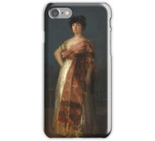Goya - La Tirana iPhone Case/Skin