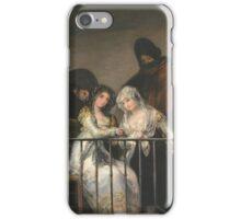 Goya - Majas Au Balcon iPhone Case/Skin