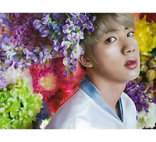 Floral SeokJin Photographic Print