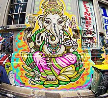Ganesh - Melbourne Laneways by Kate Mularczyk