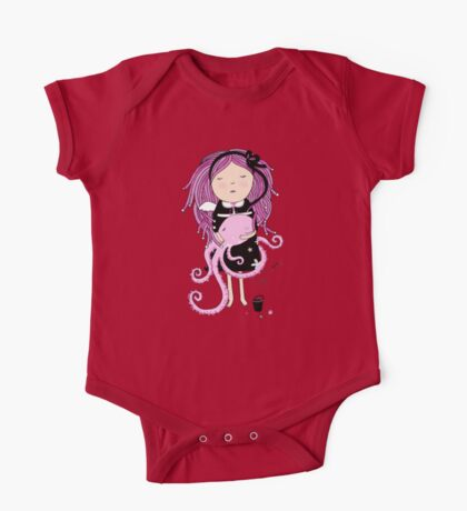Octavia and Octopus One Piece - Short Sleeve