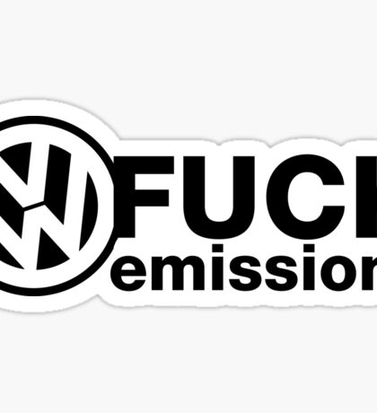 VW Emissions Dope Cool Sticker And Tees Sticker