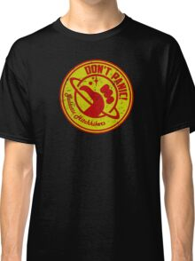 Galactic Hitchhikers Red and Gold Classic T-Shirt