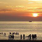 Sunset Texel  by Kaleidoking